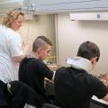 Workshopy pro školáky, leden 2018