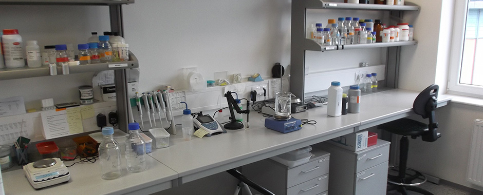One of the laboratories in the B2 building of IEB ASCR, v.v.i.