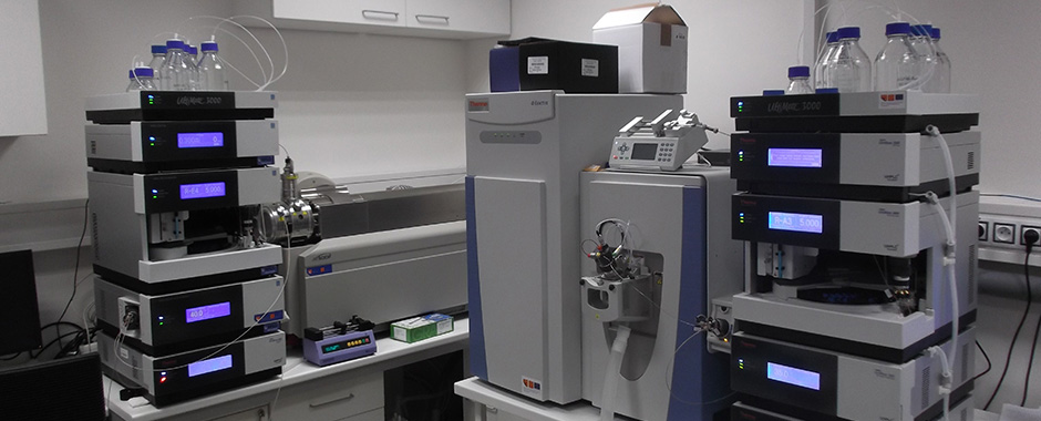 Liquid chromatography coupled with mass spectrometer